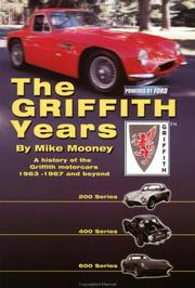 Cover of: The Griffith Years | Mike Mooney