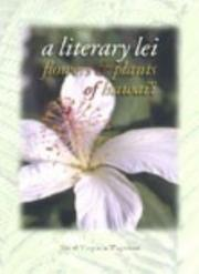 Cover of: A Literary Lei - Flowers & Plants of Hawaii | Jim Wageman