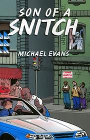 Cover of: Son of a Snitch | Michael Evans
