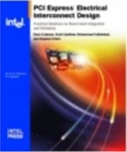 Cover of: PCI Express* Electrical Interconnect Design | Stephen Peters