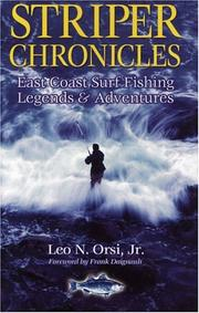 Cover of: Striper Chronicles | Leo N. Orsi