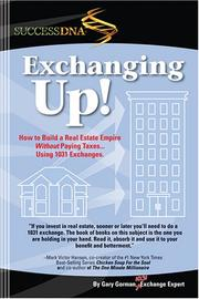 Cover of: Exchanging Up | Gary Gorman