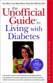 Cover of: The unofficial guide to living with diabetes | Thomas, Maria., Maria Thomas