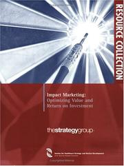 Cover of: Impact Marketing | Strategy Group