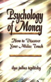 Cover of: Psychology of Money | Ilya Julius Teplitsky