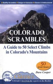 Cover of: Colorado Scrambles by Dave Cooper