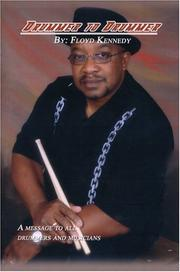Cover of: Drummer to Drummer | Floyd Kennedy Sr.