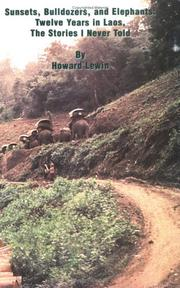 Cover of: Sunsets, Bulldozers, And Elephants | Howard Lewin