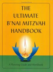 Cover of: The Ultimate B'nai Mitzvah Handbook | Mildred Brill Schorr