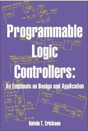 Cover of: Programmable Logic Controllers | Kelvin T. Erickson