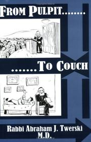 Cover of: From Pulpit to Couch | Abraham J. Twerski