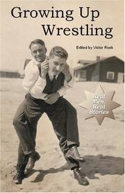 Cover of: Growing Up Wrestling | Victor Rook