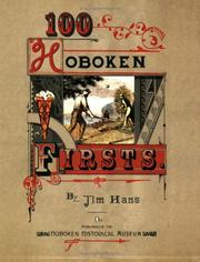 Cover of: 100 Hoboken Firsts | Jim Hans
