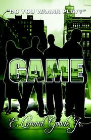 Cover of: Game | E. Lemont Goode Jr