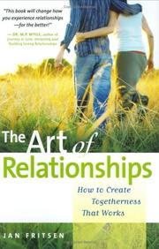 Cover of: The Art of Relationships | Jan Fritsen