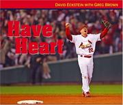 Cover of: Have Heart | David Eckstein; Greg Brown