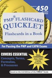 Cover of: PMP Flashcard Quicklet | Paul Sanghera