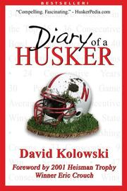 Cover of: Diary of a Husker | David Kolowski