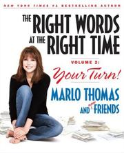 Cover of: The Right Words at the Right Time, Vol. 2 | Marlo Thomas