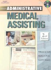 Cover of: Administrative Medical Assisting | Wilburta Lindh