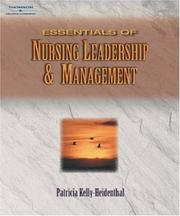 Cover of: Essentials of Nursing Leadership & Management | Patricia Kelly, Janice Tazbir