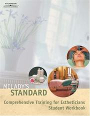 Cover of: Milady's Standard Comprehension Training for Estheticians Workbook | Milady