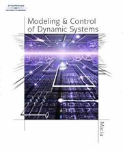 Cover of: Modeling and Control of Dynamic Systems by George J. Thaler