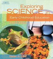 Cover of: Exploring Science in Early Childhood Education by Karen K. Lind