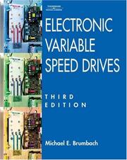 Cover of: Electronic Variable Speed Drives | Michael Brumbach
