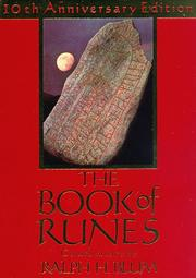 Cover of: The book of runes | Ralph Blum