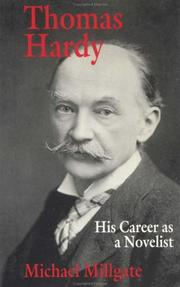 Cover of: Thomas Hardy by Millgate, Michael.