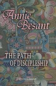 Cover of: The Path of Discipleship | Annie Wood Besant