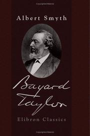 Cover of: Bayard Taylor | Albert Henry Smyth