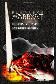 Cover of: The Poison of Asps, and Other Stories | Florence Marryat
