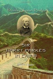 Cover of: Sir Harry Parkes in China | Stanley Lane-Poole