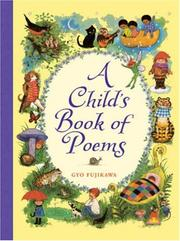 Cover of: A Child's Book of Poems by Gyo Fujikawa