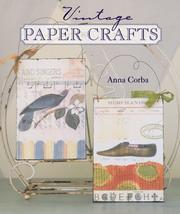 Cover of: Vintage Paper Crafts by Anna Corba