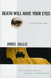 Cover of: Death will have your eyes | James Sallis