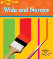 Cover of: Wide And Narrow | Diane Nieker