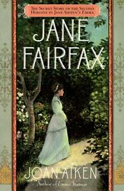 Cover of: Jane Fairfax by Joan Aiken