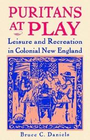 Cover of: Puritans At Play | Bruce C. Daniels