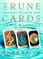 Cover of: Rune Cards | Ralph Blum
