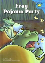 Cover of: Frog pajama party by Michael Dahl