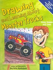 Cover of: Drawing And Learning About Monster Trucks (Sketch It!) by Bob Temple