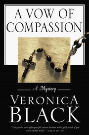 Cover of: A vow of compassion | Veronica Black