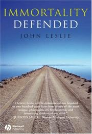 Cover of: Immortality Defended by John Leslie