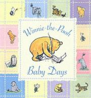 Cover of: Winnie the Pooh Baby Days | A. A. Milne