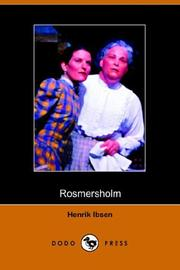 Cover of: Romersholm | Henrik Ibsen