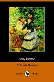 Cover of: Sally Bishop A Romance by Ernest Temple Thurston