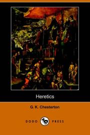 Cover of: Heretics by G. K. Chesterton